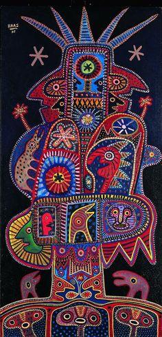 Kurt Haas by Amarilys Soler Mary Cassatt, Henri Matisse, Claude Monet, Vincent Van Gogh, Augustin Lesage, Degenerate Art, Art Brut, Indigenous Art, Colorful Paintings