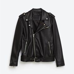 ZARA 16年秋冬メンズ新作アウター、レザージャケットやボア付きGジャン | ファッションプレス