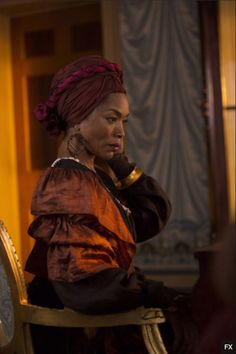 Angela Bassett in 'American Horror Story: Coven' airing tonight, Wednesday, Oct. 9 at 10pm EST on FX.
