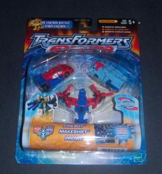 Transformers Armada The Unicron Battles Emergency Minicon Team Firebot Makeshift and Prowl >>> Details can be found by clicking on the image.Note:It is affiliate link to Amazon.