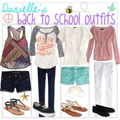 back to school outfits :)