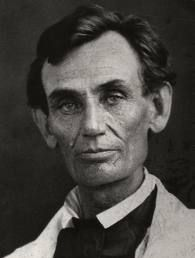 Young Mr. Lincoln before he grew the famous beard.