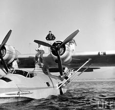 PBY Catalina. The Landseaire Flying Yacht