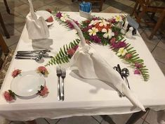 Mahibadhoo napkin swans Swans, Maldives, Napkin, Table Decorations, Furniture, Home Decor, Art, The Maldives, Art Background