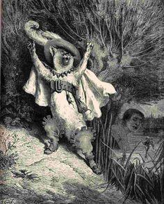 Gustave Doré, Il gatto con gli stivali, 1868