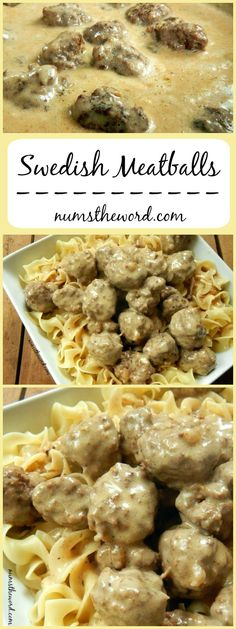 Swedish Meatballs - If you love IKEA's meatballs, then watch out! These are better in my opinion and oh so tasty!*VIDEO* Swedish Meatballs - If you love IKEA's meatballs, then watch out! These are better in my opinion and oh so tasty! Beef Dishes, Food Dishes, Main Dishes, Meat Recipes, Cooking Recipes, Recipes Dinner, Potato Recipes, Casserole Recipes, Pasta Recipes