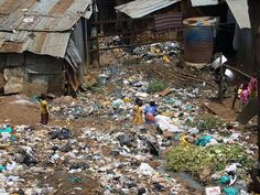 The slum of Kibera, Niarobi, Kenya This is where my sweet Banice is from....beauty can come out of this mess!