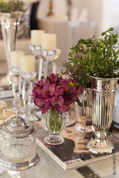 decorar a mesa de centro – Anfitriã como receber em casa, receber, decoração, festas, decoração de sala, mesas decoradas, enxoval, nosso filhos