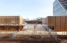 Groupe Scolaire Lucie Aubrac by Dietmar Feichtinger Architectes