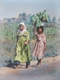 Walking to Badahi - Part of a series from my first trip to Egypt.