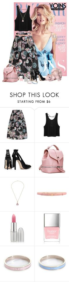 """""""Yoins Contest Pink Backpack @yoinscollection #yoins"""" by lorrainekeenan ❤ liked on Polyvore featuring Moschino Cheap & Chic, TheBalm, Butter London, Whistle & Bango and vintage"""