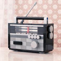 Lego radio ('70s edition)