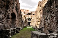 Explore the underground spaces and third floor of the Colosseum.  Tour is guided, must be pre-booked.  #places