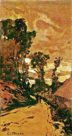 TheLaRueBavolle at Honfleur - Claude Monet- WikiArt.org