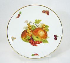 Bavaria Debra Fine China Fruit Plate made by RichardsRarityRealm, $12.00