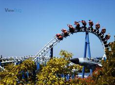 Photo by lulumj, blue tornado_gardaland, 2009_ #gardaland #lunapark #park #tornado #photography #contest #viewbug