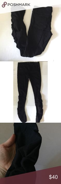 Joe's pants Mid rise skinny ankle 56% cotton 40% modal 4% elastic cinching at hem excellent condition inseam 30 Joe's Jeans Pants Skinny
