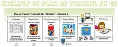 La maternelle de ToT: PLANS DE TRAVAIL EN GS - DES EXEMPLES