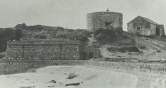 The Martello Tower in circa Note the beach - today part of the S. Most Beautiful Cities, Whale Watching, Corsica, Cape Town, Old Photos, South Africa, Old Things, Tower, Island