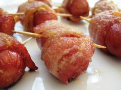 Hot Dog And Bacon Roll-Ups #SANE http://SANESolution.com