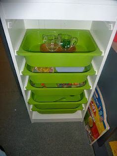 Page with lots of sensory bin ideas for a classroom