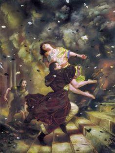 As incríveis pinturas de fantasia de Donato Giancola