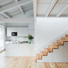 PF Arch Studio converts 19th century building into six duplex flats in portugal