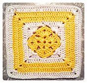 Ravelry: April Diamond Granny Square pattern by Tatha Lorenzen