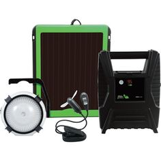 Nature Power Emergency Solar Powerpack System — With Fan and Light
