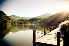 Lake Lure Inn and Spa -- Lake Lure, NC.  (Haven't stayed here yet, but it's on my travel wish list!)