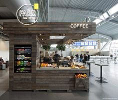 horeca, simple and nice coffee kiosk