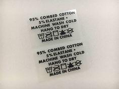 Custom heat transfe labels Custom Tagless label Tagless heat
