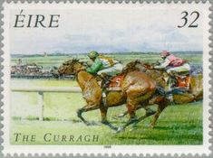 irish horse stamps | Stamp: Horse racing (Ireland) (Horse racing) Mi:IE 935A