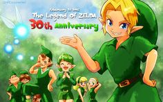 The Legend of Zelda 30th anniversary - 2016-02-21 - By @NEOsoratani | #Zelda30