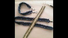 Easy !!! Crochet braceletHäkelkette kolay tığişi takı  simple pulsera...