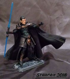 Phantom Starkiller Custom mini figure with display box