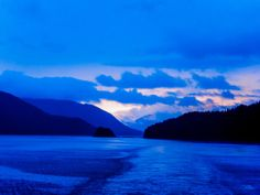Photo of the Week : Watching the Sunset in Alaska's Inside Passage