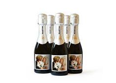 Mini Champagne Bottle Label $10/30...welcome basket