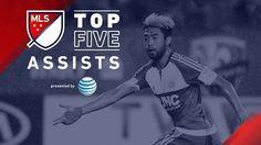 Oto zestawienie 5 najpiękniejszych asyst w Major League Soccer • Top 5 asyst na boiskach MLS w 2015 roku • Wejdź i zobacz film >> #mls #football #soccer #sports #pilkanozna