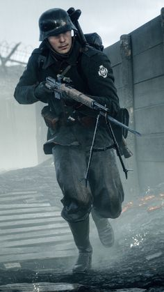iPhone 6 - Video Game/Battlefield 1 - Wallpaper ID: 639041