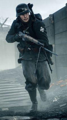 iPhone 6 - Video Game/Battlefield 1 - Wallpaper ID: 639041