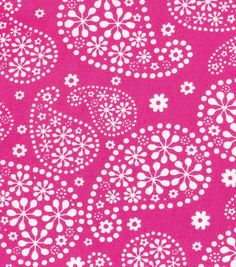 Floral Paisley Pink