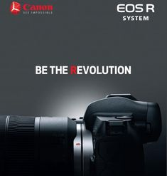 Meet Canon's new addition to the EOS System, the EOS R Mirrorless camera. The foundation of this system is an entirely new lens mount, designed for optical excellence today and incredible optical potential for the future. Canon Lens, Canon Cameras, Nikon Dslr, Line Camera, Camera Gear, Digital Camera Lens, Digital Slr, Gopro Photography, Landscape Photography