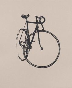 Track Bike - Little Print