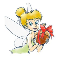 Tinker Bell by The Walt Disney Company (Japan) Ltd. Princess Peach, Disney Princess, Walt Disney Company, Line Sticker, Cute Stickers, Peter Pan, Tinkerbell, Disney Characters, Fictional Characters