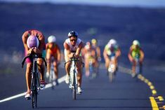 I'm working up the necessary insanity to someday do an Ironman distance tri. AHHH! so crazy.