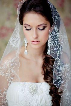Maquillage de ojos muy delineado para boda