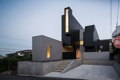 FORM / kouichi kimura architects' scape house formed from combined boxes
