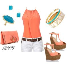 Summer Coral style
