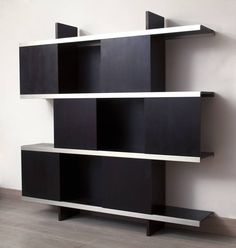 "Angelo Mangiarotti ""Multiuse"" Bookcase by Poltronova 